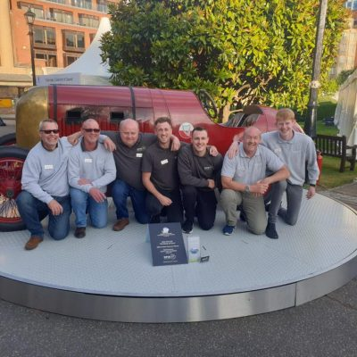 The SPIN-IT team at London Concours 2019