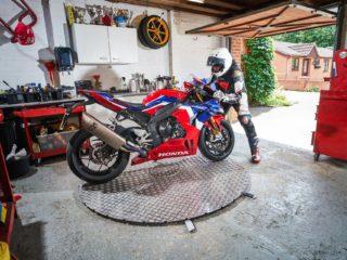motorbike turntable